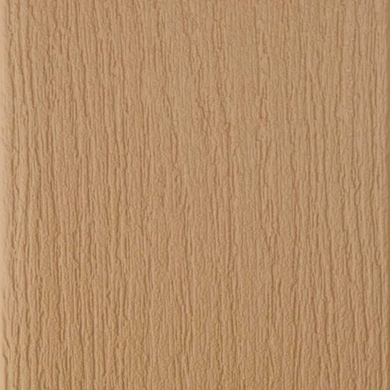 caramel brown composite deck board swatch