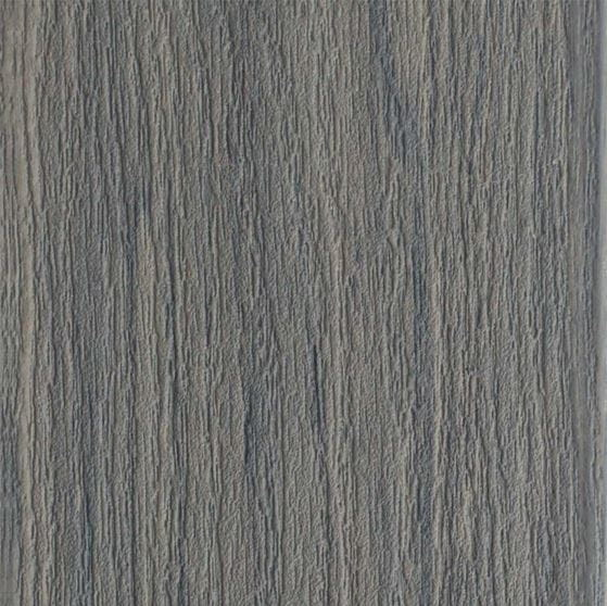 seaside gray composite deck board close up