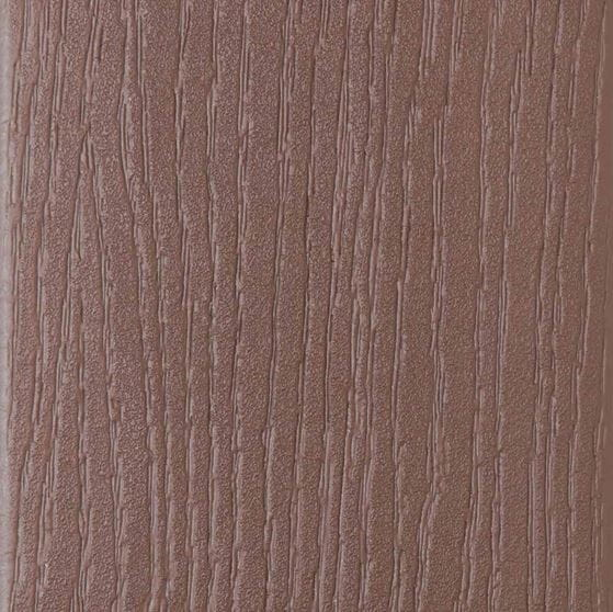 veranda walnut  composite deck board swatch