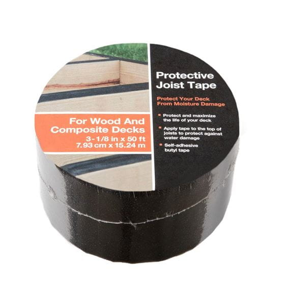 joist tape roll on white background