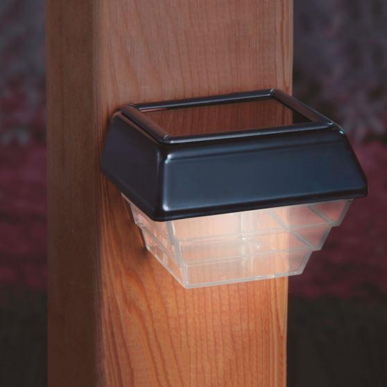 Stair Post Light: Solar Post & Stair Light For Decks