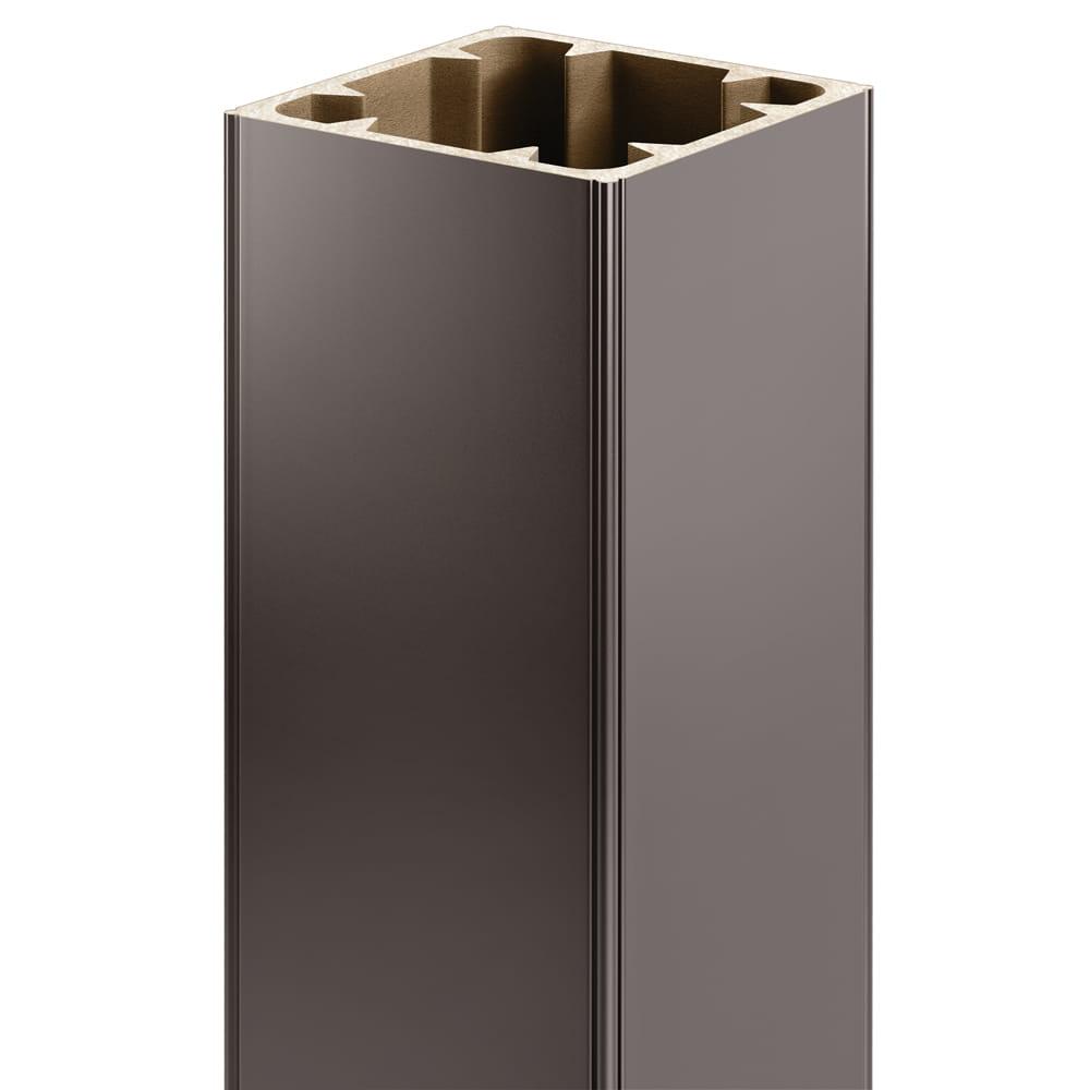 Bronze Composite Post Sleeve Kit, 40 In.