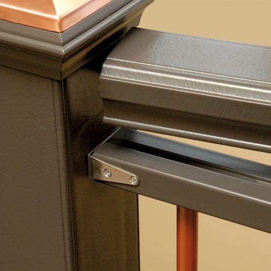Bronze 6 Ft Composite Stair Rail Kit Yard Amp Home