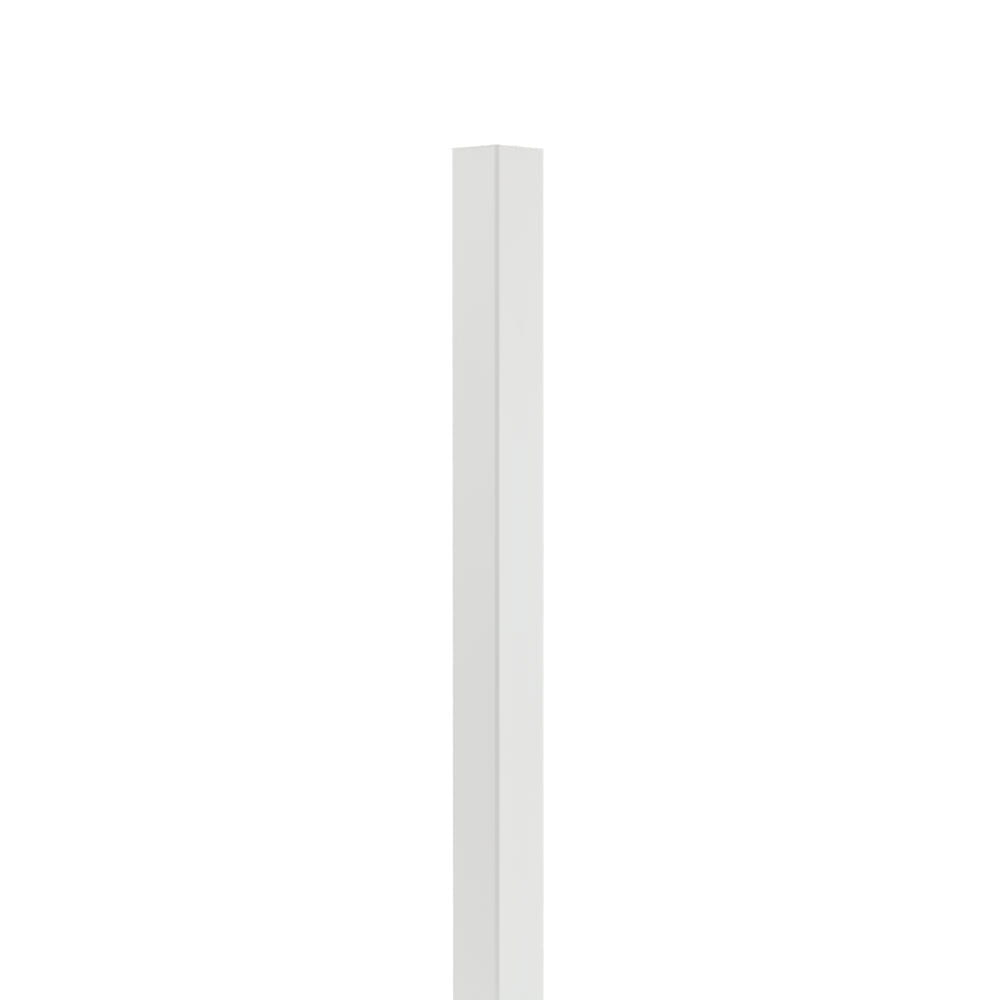 Outdoor Essentials 4 by 4 white vinyl fence post