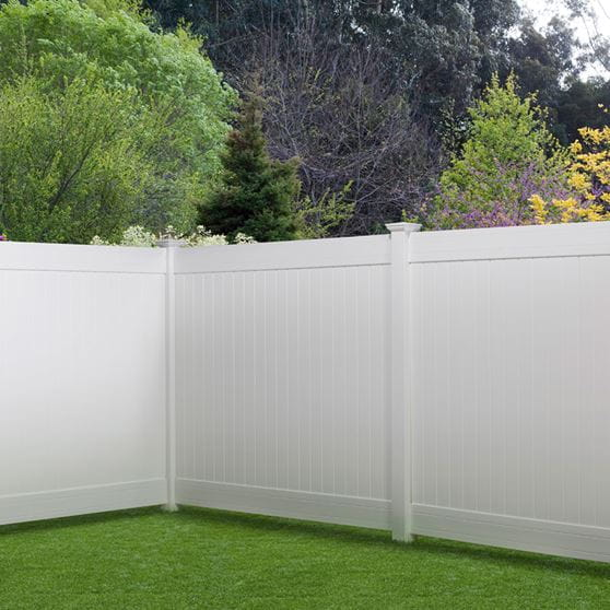 Pro Series Hudson Vinyl Privacy Fence Panel Kit Yard Amp Home