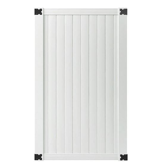 Outdoor Essentials white olympia gate