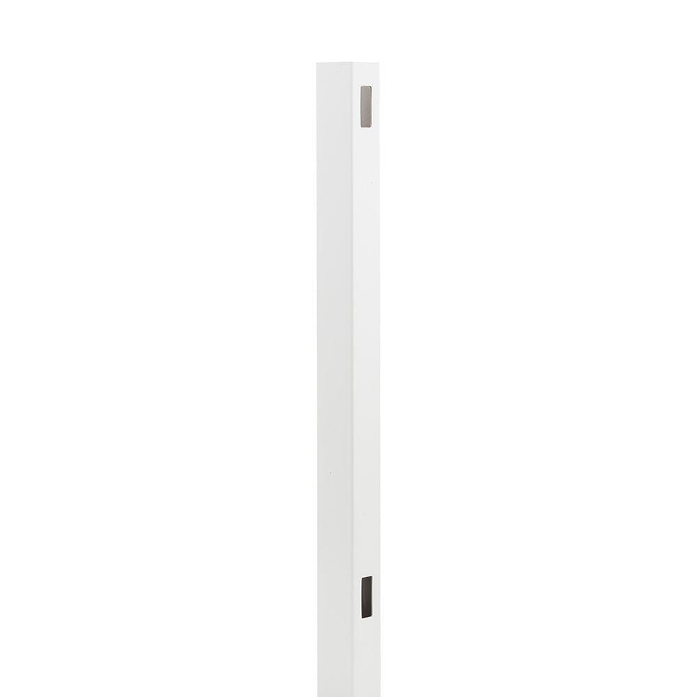 Outdoor Essentials white hudson 98 inch end post
