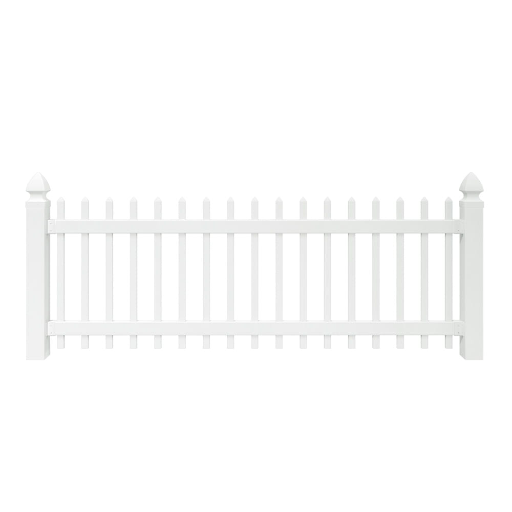 pinehurst spaced picket vinyl fence panel