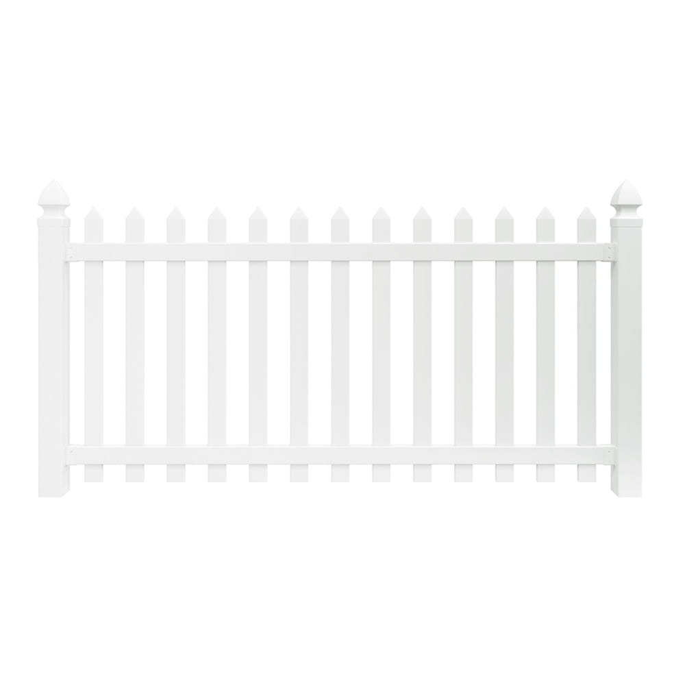 PicketLock Yorktown Vinyl Fence Panel