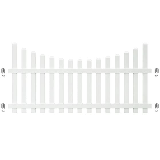 brackets for yorktown fence panel