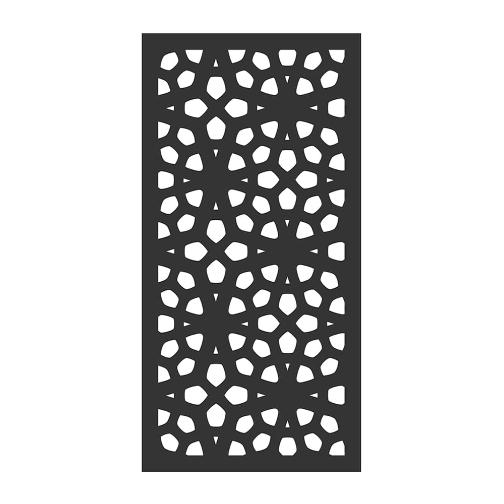 marakesh pattern composite privacy panel