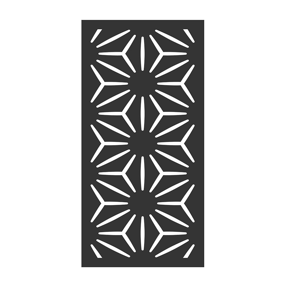 star anais pattern composite privacy panel
