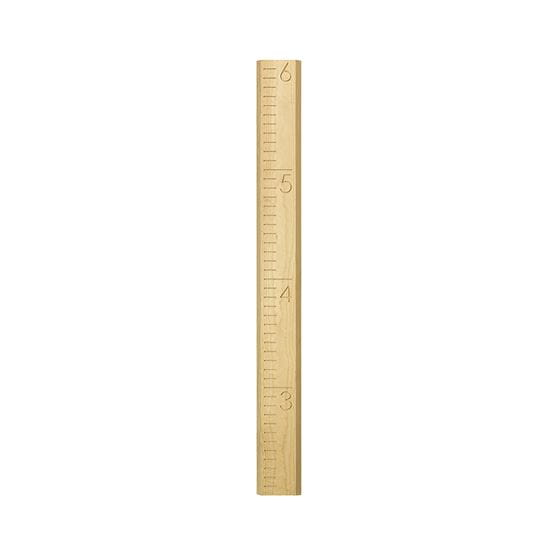 large wooden ruler growth chart