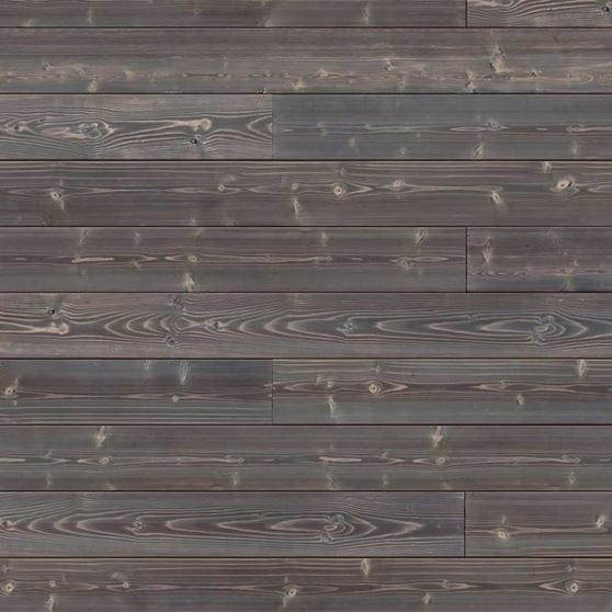 Grey Wood Accent Wall: Gray Charred Wood Shiplap, 4-pack