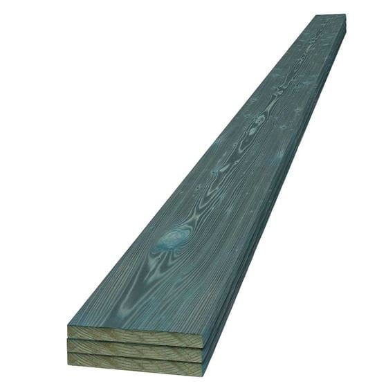 UFP-Edge teal charred wood boards