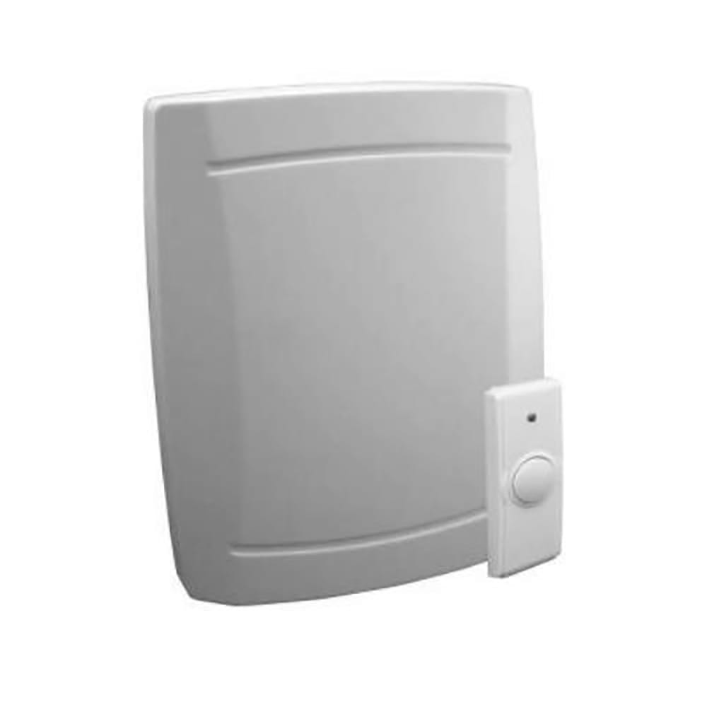 white doorbell chime \u0026 button  sc 1 st  Yard \u0026 Home & Battery-Operated Westminster Door Chime \u0026 Button - Yard \u0026 Home