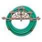 Vineyard copper hose holder with hose on it