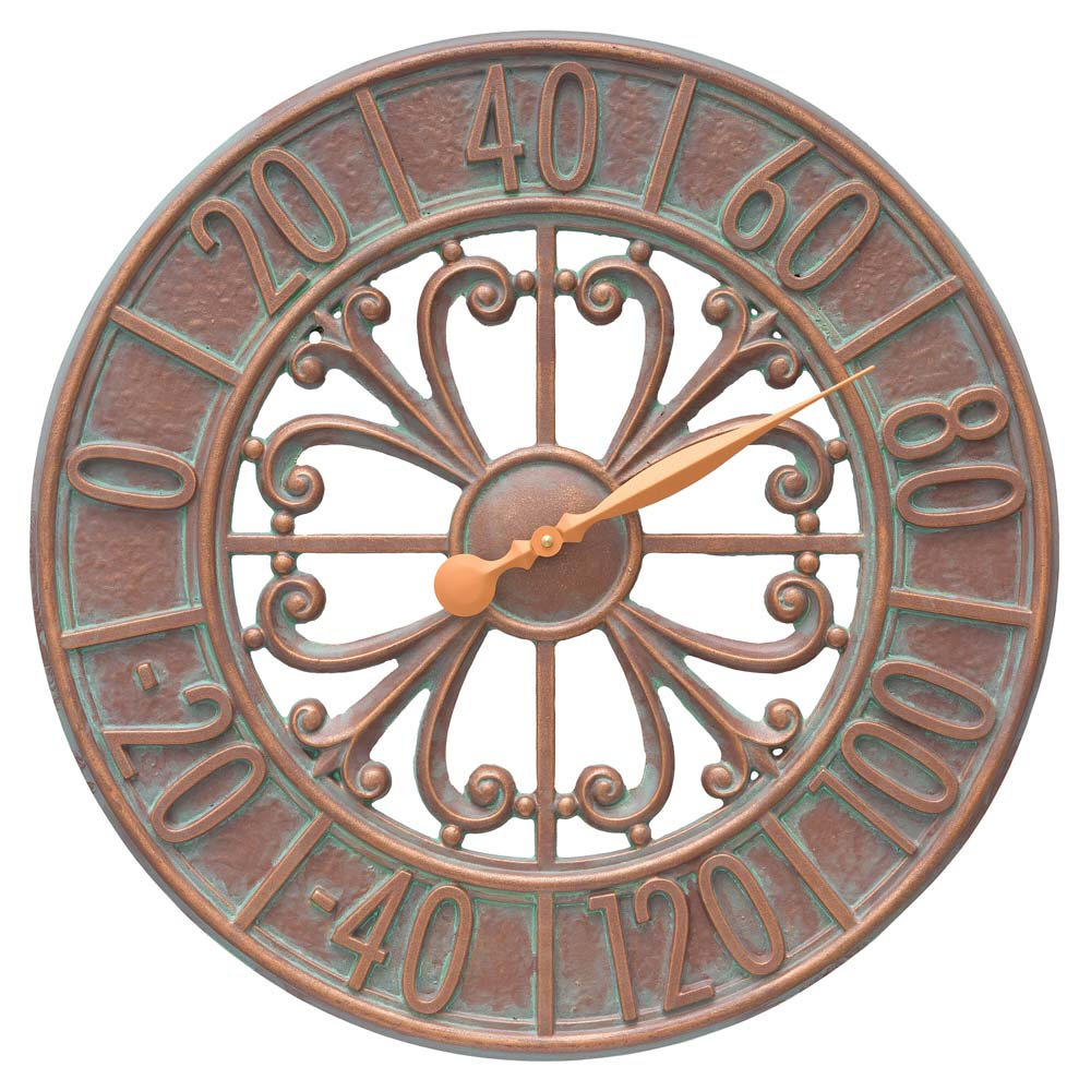Villanova copper thermometer