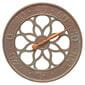 Medallion copper thermometer