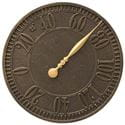 Geneva french bronze thermometer