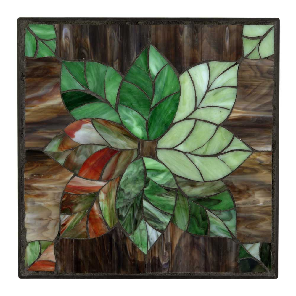 Outdoor Essentials Leaf design stepping stone