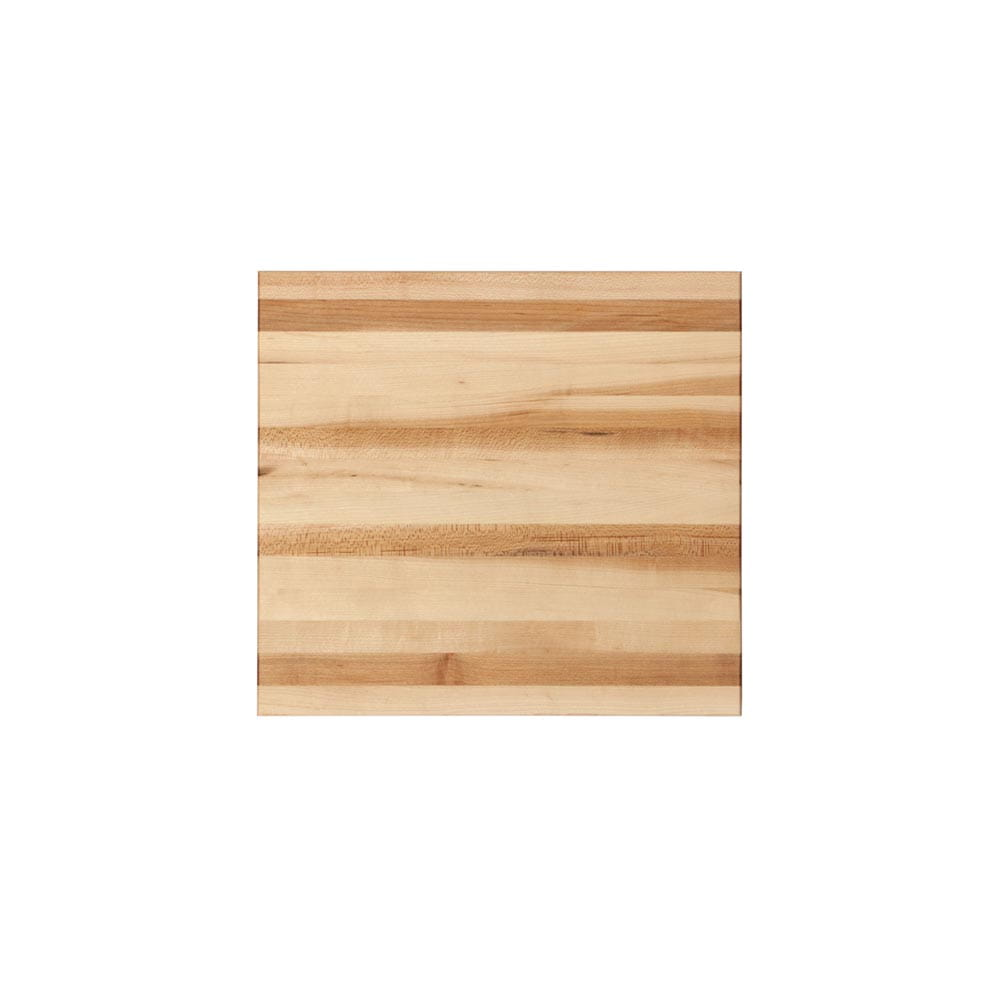 12 inch edge grain cutting board top view zoomed out