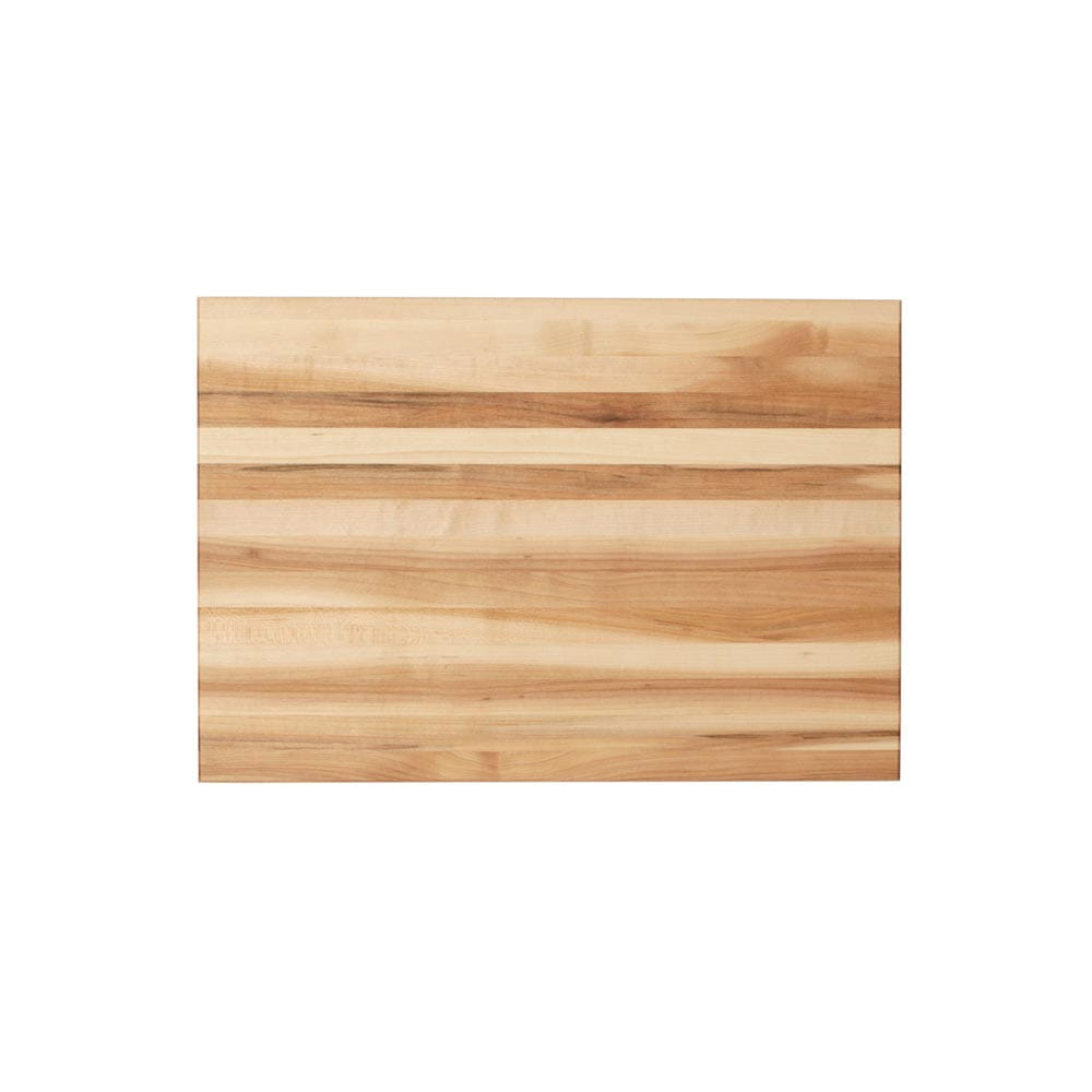 16 inch edge grain cutting board top view zoomed out