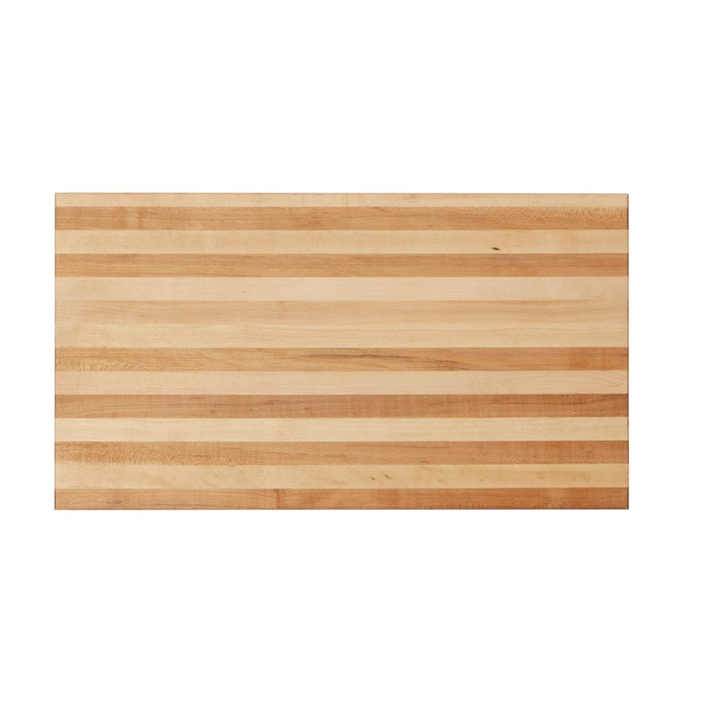 20 inch edge grain cutting board top view zoomed out