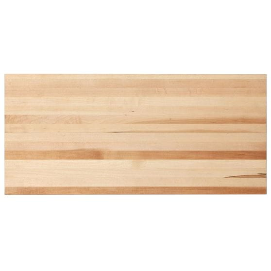 24 inch edge grain cutting board top view zoomed out