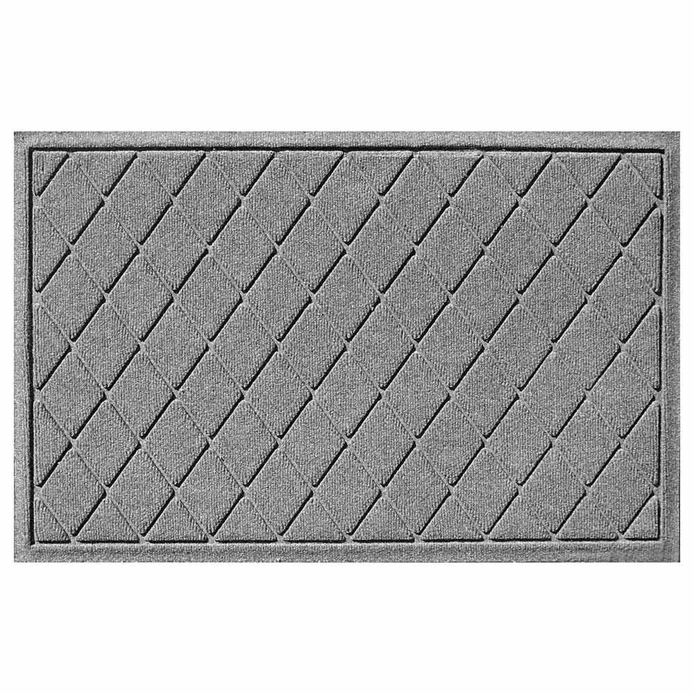 Argyle 2 by 3 medium gray mat