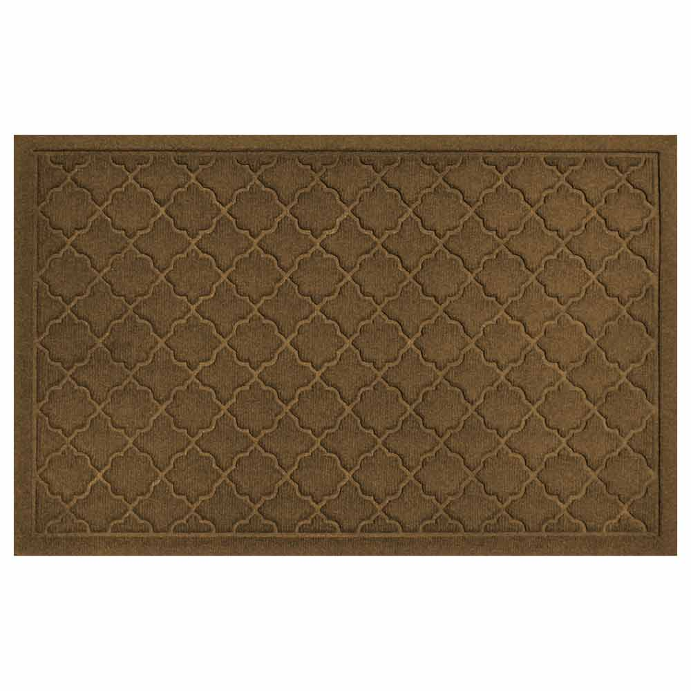Cordova 2 by 3 dark brown mat