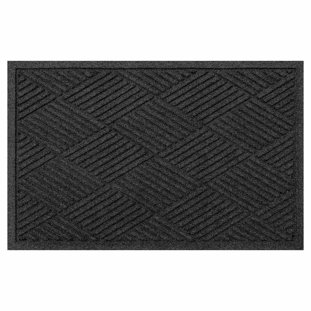 Diamond 2 by 3 charcoal mat