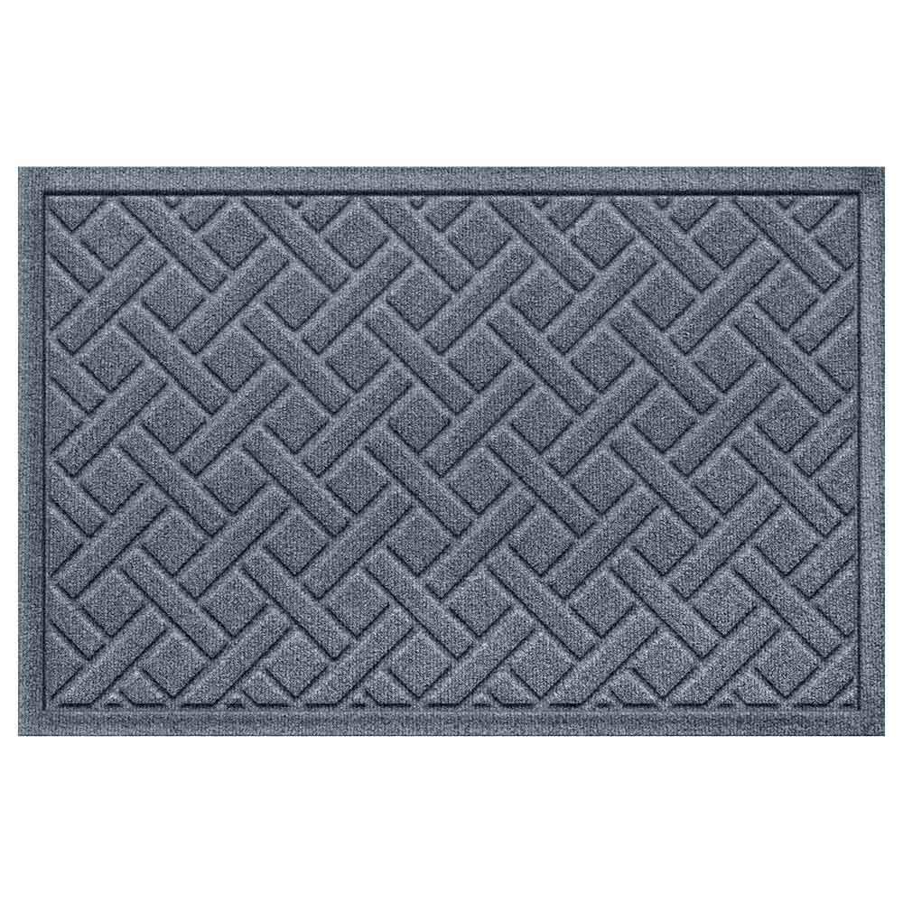 Lattice 2 by 3 bluestone mat