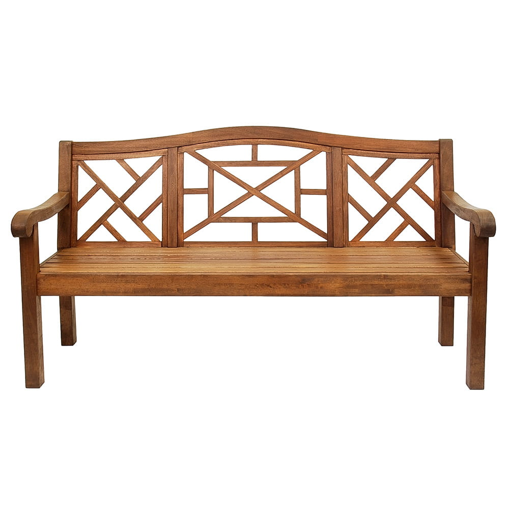 achla carlton bench on white background