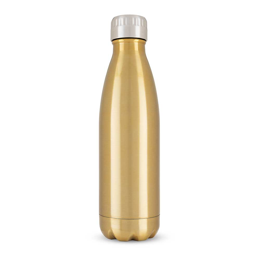 500ml water bottle in gold