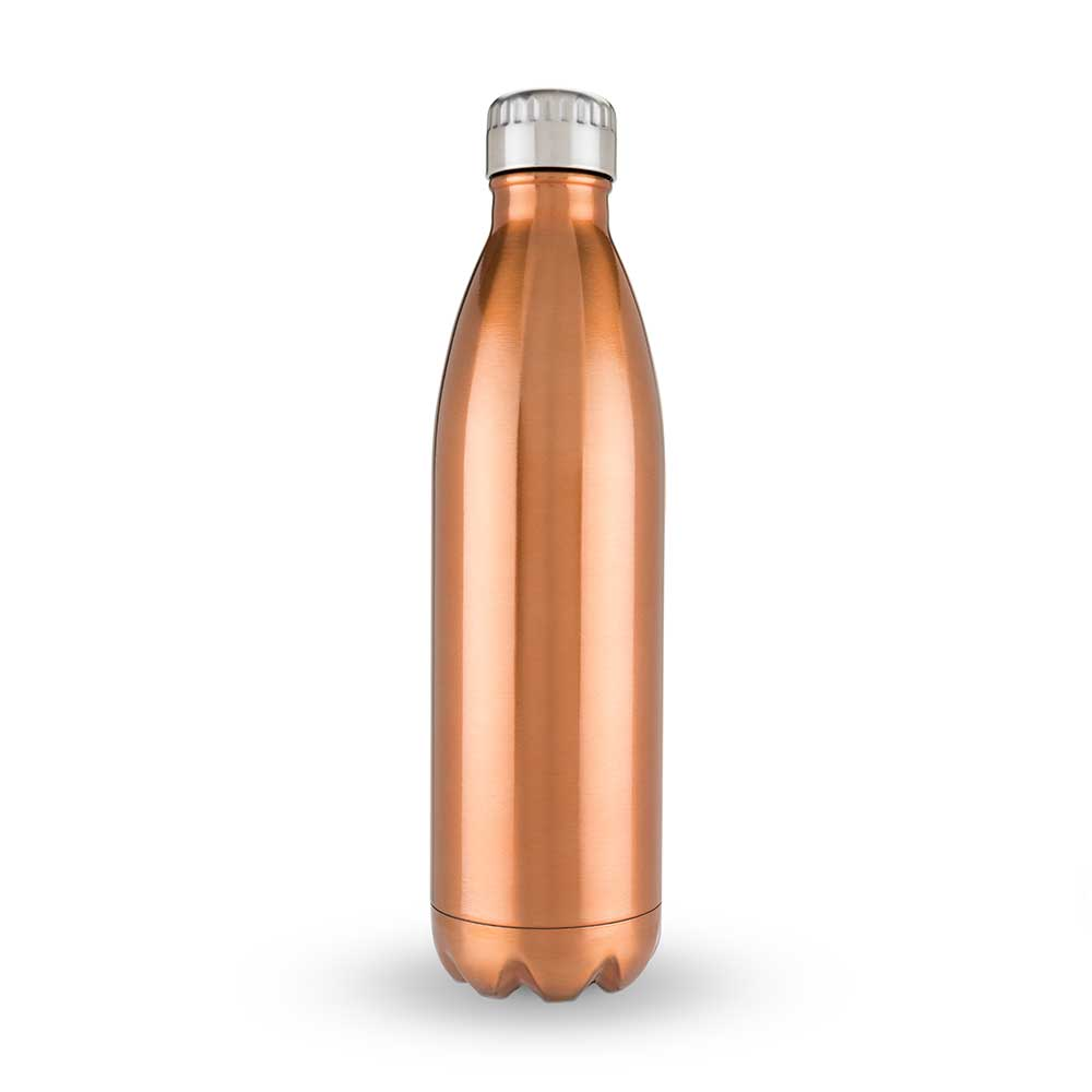 750ml water bottle in copper
